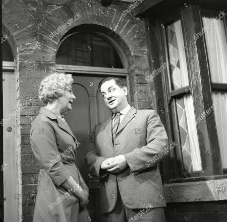 Betty Alberge (as Florrie Lindley) and Frank Pemberton (as Frank Barlow)