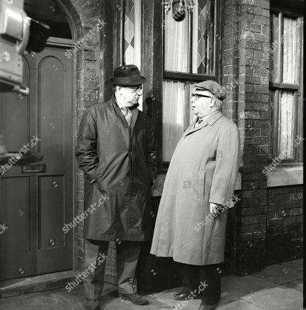 Frank Pemberton (as Frank Barlow) and Jack Howarth (as Albert Tatlock)