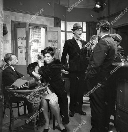 Editorial photo of 'Coronation Street' TV Show - 1964