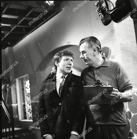Stock Image of Philip Lowrie (as Dennis Tanner) and Alister Williamson (as Gus Lowman)