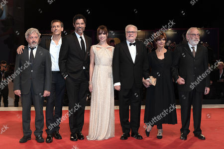 Editorial picture of 'Una Storia Senza Nome' premiere, 75th Venice International Film Festival, Italy - 07 Sep 2018