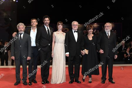 Editorial photo of 'Una Storia Senza Nome' premiere, 75th Venice International Film Festival, Italy - 07 Sep 2018