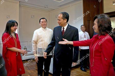 Editorial photo of China's National People's Congress vice chairman Ji Bingxuan visits Philippines, Manila - 10 Sep 2018
