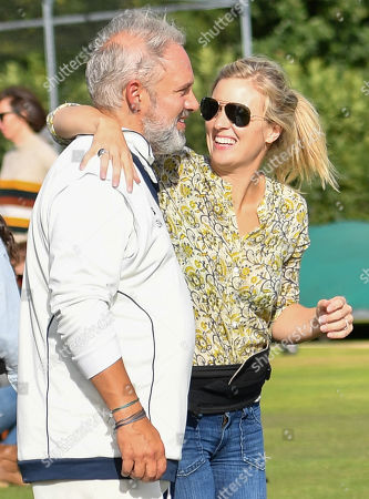 Sam Mendes with his wife Alison Balsom