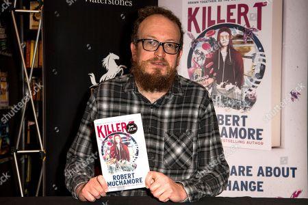 Editorial image of Robert Muchamore book signing at Bluewater, Kent, UK - 09 Sep 2018