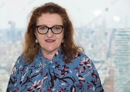 Glenda Bailey attends the Longchamp show during Fashion Week on in New York