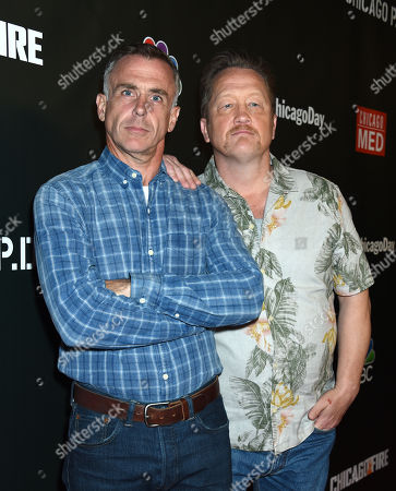 Stock Photo of David Eigenberg and Christian Stolte