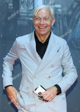 German mediapsychologist Jo Groebel poses on the red carpet prior the movie premiere of 'Mackie Messer - Brechts Dreigroschenfilm' (lit. Mack the Knife - Brecht's Threepenny Film) in Berlin, Germany, 10 September 2018. The movie opens across German theaters on 13 September.