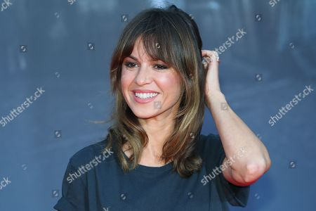 German actress Natalia Avelon poses on the red carpet prior the movie premiere of 'Mackie Messer - Brechts Dreigroschenfilm' (lit. Mack the Knife - Brecht's Threepenny Film) in Berlin, Germany, 10 September 2018. The movie opens across German theaters on 13 September.