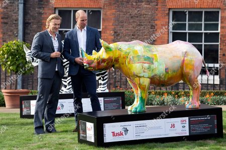 Editorial picture of Duke of Cambridge attends an event marking the Tusk Rhino Trial at Kensington Palace, London, United Kingdom - 10 Sep 2018
