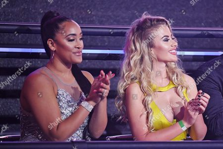 Natalie Nunn and Chloe Ayling