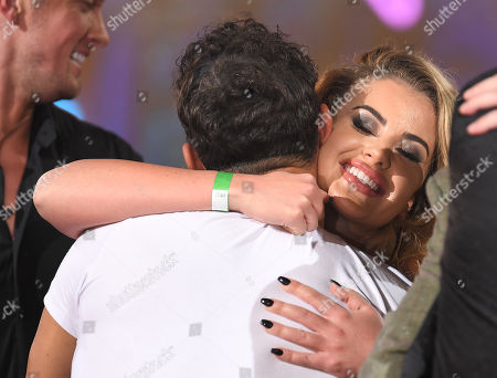 Ryan Thomas and Chloe Ayling