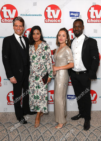 Ioan Gruffudd, Shelley Conn, Zoe Tapper and Richie Campbell