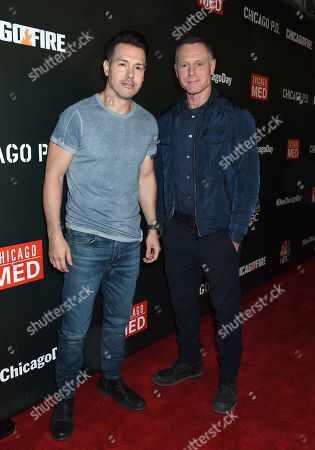 Stock Picture of Jon Seda and Jason Beghe