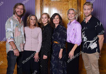 Stock Photo of Magnus Krepper, Maria Fahl Vikander, Alba August, Pernille Fischer Christensen, Trine Dyrholm, Björn Gustafsson