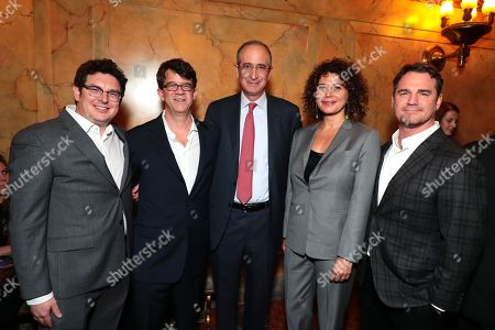 Isaac Klausner, Producer, Wyck Godfrey, Producer, Brian L. Roberts, Chairman/President and CEO of Comcast, Donna Langley, Chairman of Universal Pictures, Marty Bowen, Producer