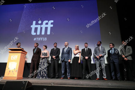 Editorial photo of Universal Pictures' 'First Man' Premiere at the Toronto International Film Festival, Toronto, Canada - 10 Sep 2018