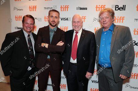 Mark Armstrong, Ryan Gosling, Al Worden, Rick Armstrong