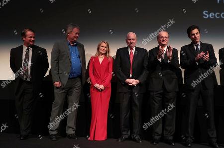 Mark Armstrong, Rick Armstrong, Bonnie Baer, Al Worden, James R. Hansen, Author, Josh Singer, Writer/Executive Producer
