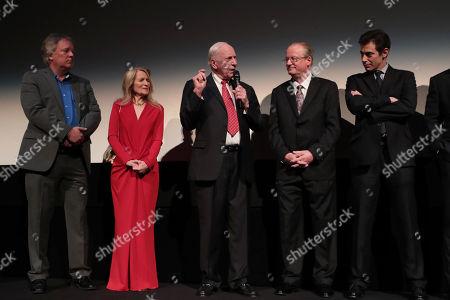 Rick Armstrong, Bonnie Baer, Al Worden, James R. Hansen, Author, Josh Singer, Writer/Executive Producer