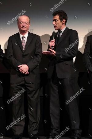 James R. Hansen, Author, Josh Singer, Writer/Executive Producer