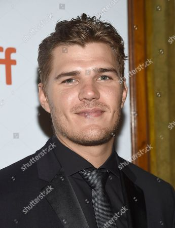 "Chris Zylka attends the premiere for ""The Death and Life of John H. Donovan"" on day 5 of the Toronto International Film Festival at the Winter Garden Theatre, in Toronto"