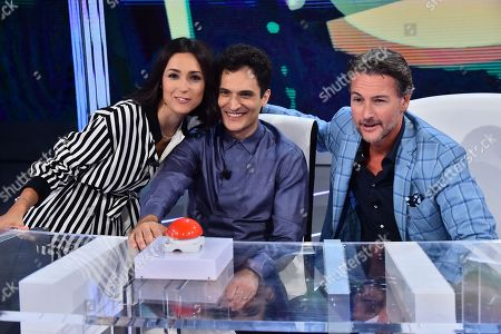 Editorial photo of 'Rai VIeni da me' TV show, Rome, Italy - 10 Sep 2018