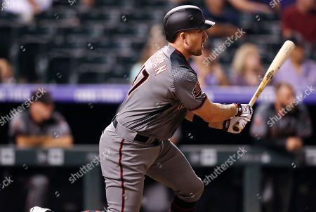 Patrick Kivlehan, patrick kivlehan. Arizona Diamondbacks' Patrick Kivlehan follows the flight of his single off Colorado Rockies starting pitcher Sam Howard in the ninth inning of a baseball game, in Denver. The Rockies won 13-2
