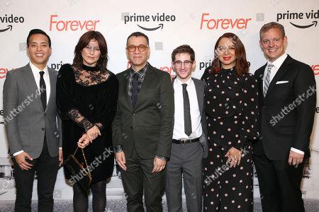 Alan Yang, Catherine Keener, Fred Armisen, Noah Robbins, Maya Rudolph and Matt Hubbard