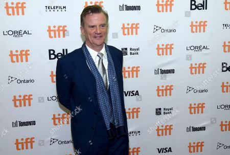 """Nick Hamm attends the premiere for """"Driven"""" on day 5 of the Toronto International Film Festival at the Princess of Wales Theatre, in Toronto"""