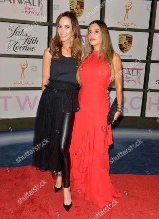 Katy Stoka and Adriana De Moura
