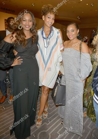 Stock Picture of Garcelle Beauvais, Tracy Wilson Mourning and Amaris Jones