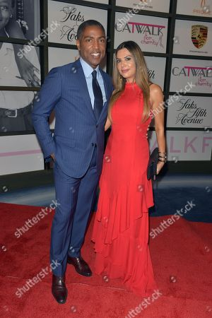 Calvin Hughes and Adriana De Moura