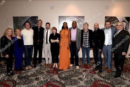 Chairman of Fox Searchlight Nancy Utley, Julie Goldstein, Jeremy Steckler, James D. Stern, Casey Affleck, Sissy Spacek, Tika Sumpter, Danny Glover, Robert Redford, David Lowery, Anthony Mastromauro, Fox Searchlight Chairman Steve Gilula