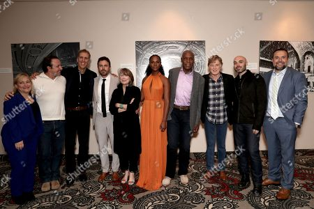 Stock Image of Julie Goldstein, Jeremy Steckler, James D. Stern, Casey Affleck, Sissy Spacek, Tika Sumpter, Danny Glover, Robert Redford, David Lowery, Anthony Mastromauro