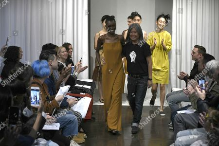 Editorial picture of Yeohlee show, Runway, Spring Summer 2019, New York Fashion Week, USA - 10 Sep 2018