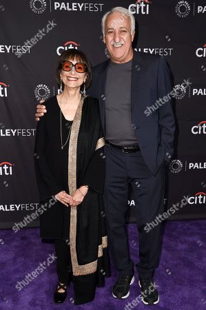 "Madhur Jaffrey, Brian George. Madhur Jaffrey, left, and Brian George attend the 2018 PaleyFest Fall TV Previews ""I Feel Bad"" at The Paley Center for Media, in Beverly Hills, Calif"
