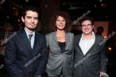 Damien Chazelle, Director/Producer, Donna Langley, Chairman of Universal Pictures, Isaac Klausner, Producer