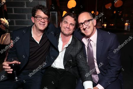 Stock Picture of Wyck Godfrey, Producer, Marty Bowen, Producer, Jimmy Horowitz, President of Universal Pictures