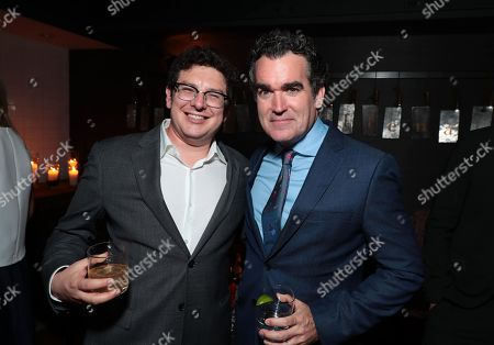 Stock Image of Isaac Klausner, Producer, Brian d'Arcy James