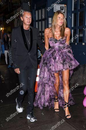 Angelo Gioia and Anna Dello Russo