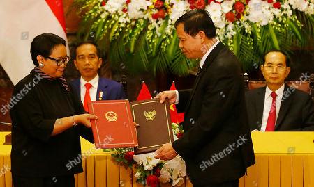 Editorial photo of World Economic Forum on ASEAN in Hanoi, Vietnam - 11 Sep 2018
