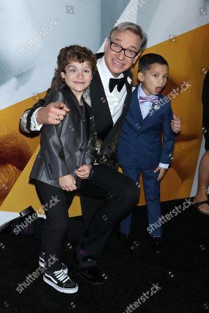 Joshua Satine, Paul Feig and Ian Ho