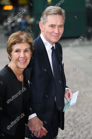 Georgina Simpson and Anthony Andrews
