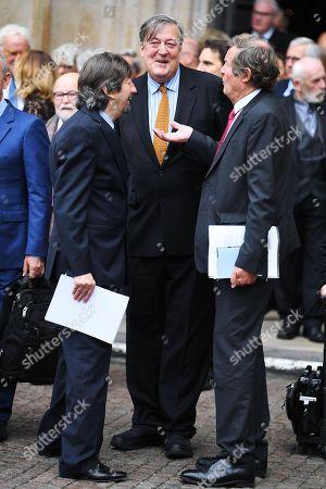 Sir Trevor Nunn, Stephen Fry and David Hare