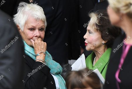 Judi Dench and Leslie Caron