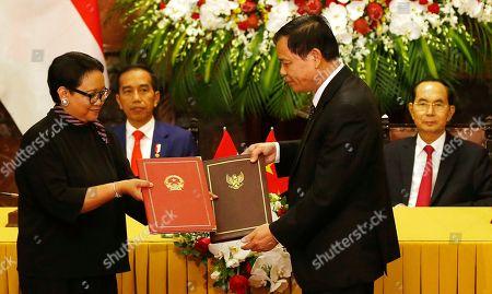 Editorial image of Indonesia, Hanoi, Vietnam - 11 Sep 2018