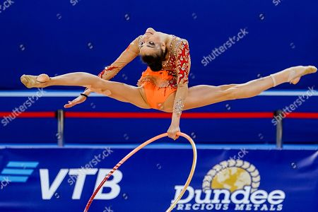 Maria Alice David of Romania during Rhythmic Gymnastics World Championships at the Arena Armeec in Sofia at the 36th FIG Rhythmic Gymnastics World Championships