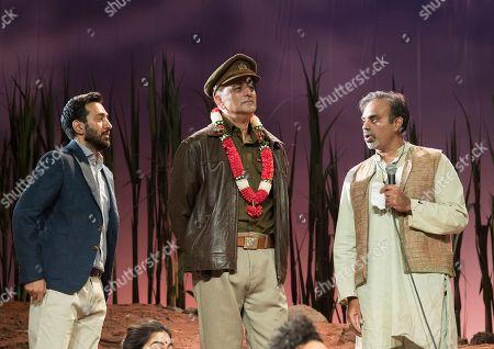 Harki Bhambra as Gopi, Art Malik as The Inspector, Neil D'Souza as Ramdev