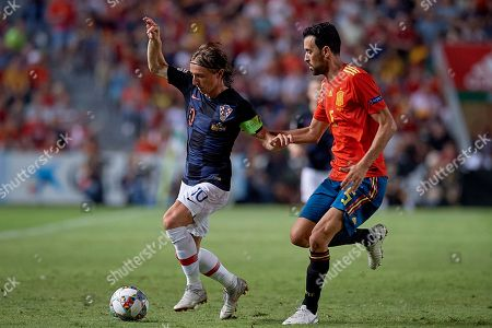 Editorial photo of Spain v Croatia, UEFA Nations League, Football, Martinez Valero Stadium, Elche, Spain - 11 Sep 2018
